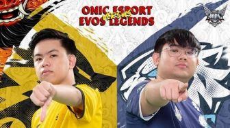 ONIC Bantai EVOS Legends di Pentutup MPL Season 7 Week 7