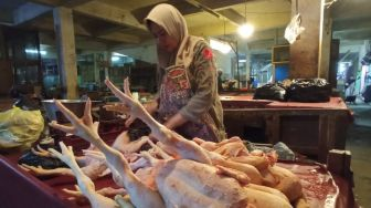 Harga Ayam Potong di Banjarnegara Meroket Jelang Ramadan