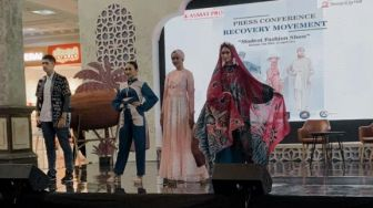 Bangkit dari Pandemi Covid-19, Sleman City Hall Gelar Modest Fashion Show
