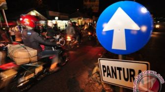 Razia 'Sahur On The Road', Polda Metro Jaya Ciduk Puluhan Motor Bodong