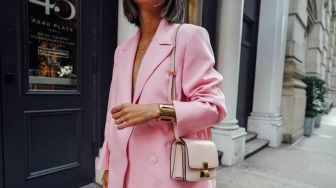 Ide Work Outfit Warna Pastel yang Modern dan Mencuri Perhatian