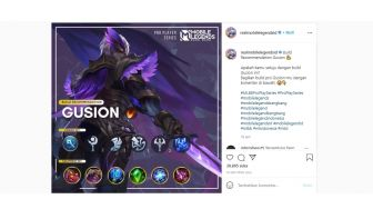 Rekomendasi Build Item Gusion Push Rank Mobile Legends