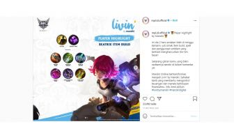 Rekomendasi Build Item Beatrix di Mobile Legends Versi Genflix Watt