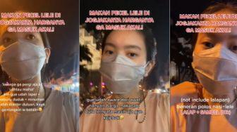 Viral Cewek Makan di Warung Pinggir Jalan, Syok Harganya Tak Masuk Akal