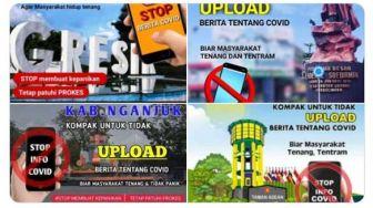 Mulai Viral Kampanye Stop Upload Berita Covid, Netizen: Herd Stupidity