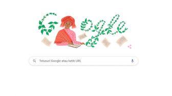 Google Doodle Hari Ini Tampilkan Sosok Sariamin Ismail