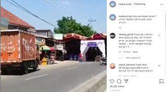 Viral Orang Gelar Hajatan di Tengah Jalan, Ramai-Ramai Didoakan Netizen