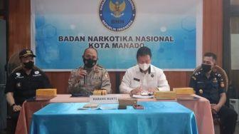 BNNP Sulut akan Bongkar Jaringan Narkotika Antar Negara