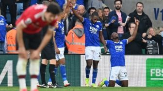 Leicester City Bantai Manchester United 4-2 di King Power Stadium