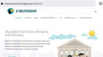 Website Beasiswa Bontang Sudah Bisa Diakses: Tetap Dipantau Untuk Kelancarannya