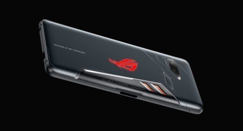 Ponsel gaming Asus ROG Phone diluncurkan di arena Computex 2018 di Taipe, Taiwan, Senin (5/6). [Asus Press Room]