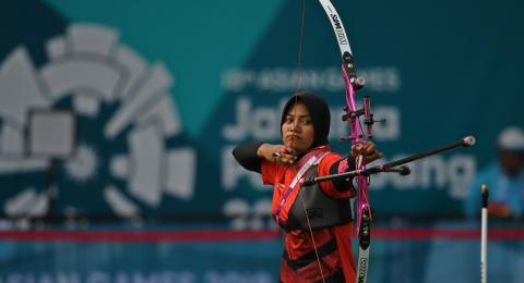 Asian Games : Gagal Sumbang Emas, Choirunisa 'Salahkan' Angin