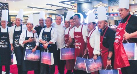 Merayakan hari ulang tahun (HUT) ke-25, Accorhotels menggelar Battle of the Chefs. (Foto: Dok. Accorhotels)