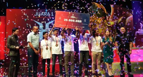 Humble Wakili Bekasi di Grand Final Piala Presiden e-Sports 2019