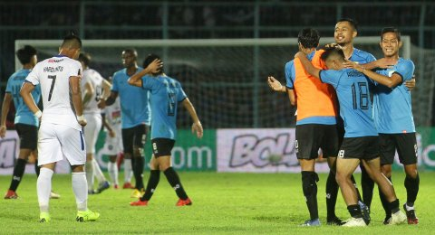 Gol Tunggal Washington Menangkan Persela di Markas Arema