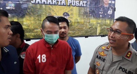 Aksi Todongkan Pistol Viral, Andy Wibowo Si Koboi Jalanan Diringkus Polisi