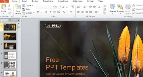Presentasi Makin Cantik Begini Cara Download Template Ppt