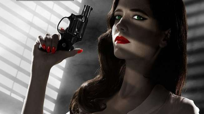 Poster film Sin City: A Dame to Kill for.