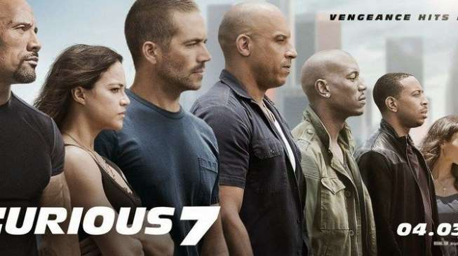 Poster Fast and Furious 7. (Universal Pictures)