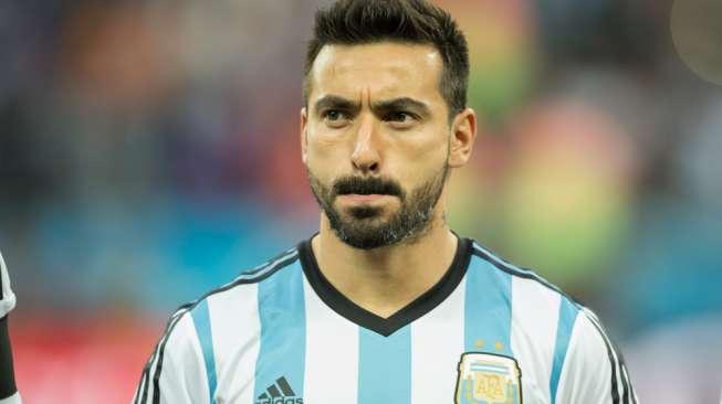 argentina kalah lavezzi tetap dukung messi bola suara