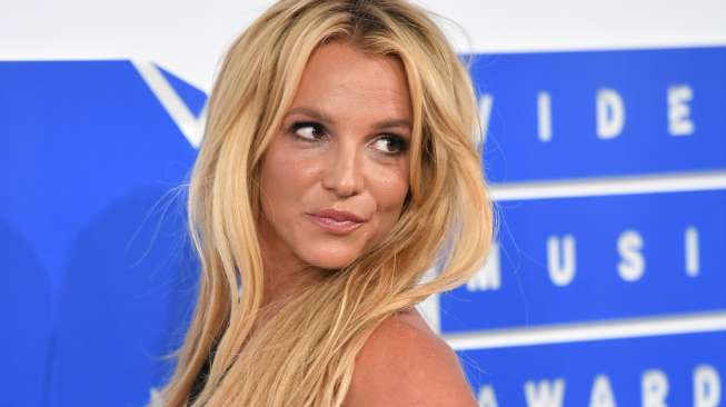 Britney Spears menghadiri acara MTV Video Music Awards 2016 di Madison Square Garden, New York, 28 Agustus 2016 [AFP].