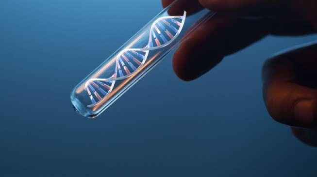 Ilustrasi tes genetika, DNA. (Shutterstock)