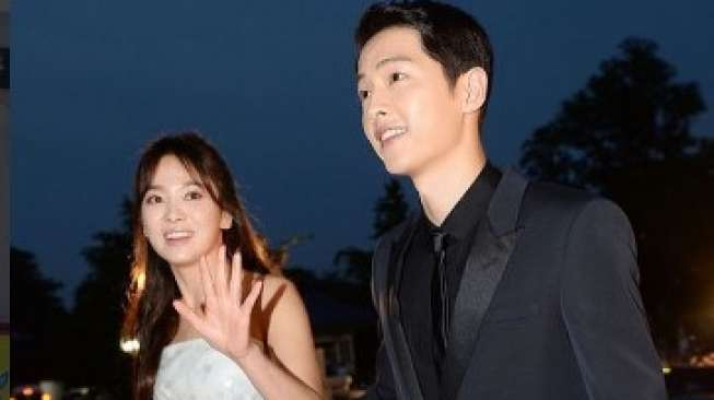 Song Hye Kyo dan Song Joong Ki [Instagram]
