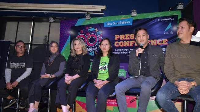 Nostalgia Bareng 23 Band di Festival The 90s