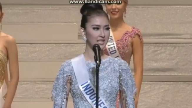 Kevin Liliana Raih Miss International karena Bhineka Tunggal Ika - 1