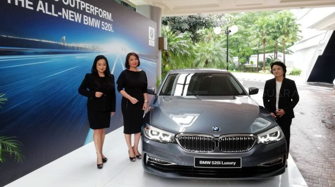 Resmi! All-New BMW 520i Luxury Line Mengaspal di Tanah Air