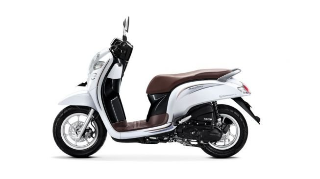 Scoopy Stylish White. [AHM]