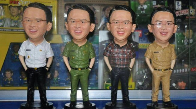 Action Figure Ahok [Tokopedia]