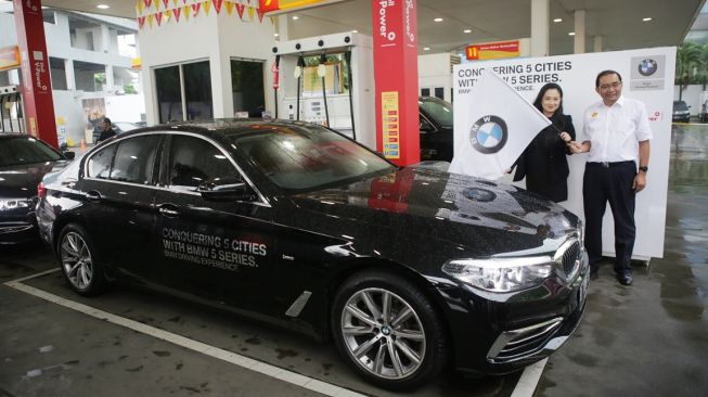 BMW Driving Experience - Conquering 5 Cities with BMW 5 Series. [BMW Group Indonesia]