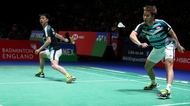 Kevin / Marcus Menangi Derby Indonesia di Babak Awal All England