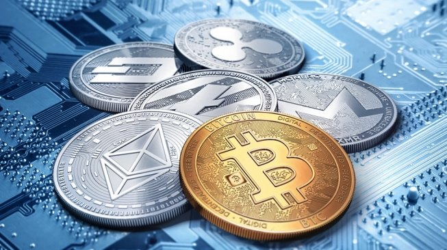 Ilustrasi Cryptocurrency. [Shutterstock]