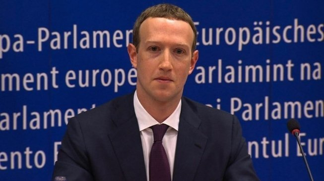 CEO Facebook, Mark Zuckerberg. [AFP]
