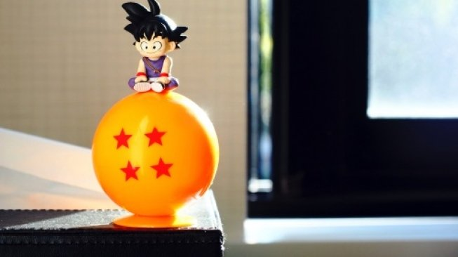 Ilustrasi Dragon Ball. [Shutterstock]