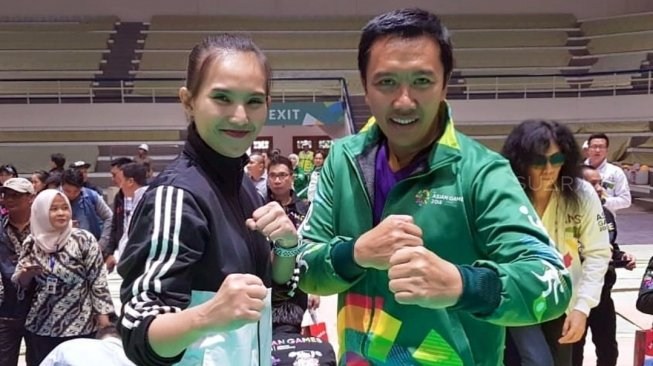 Siap Mental, Pesilat Cantik Ini Optimis Raih Emas Asian Games