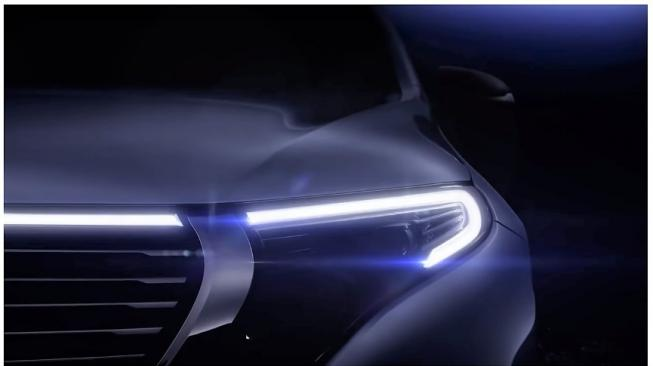 EQC electric SUV dari Mercedes-Benz [YouTube: Electrek].