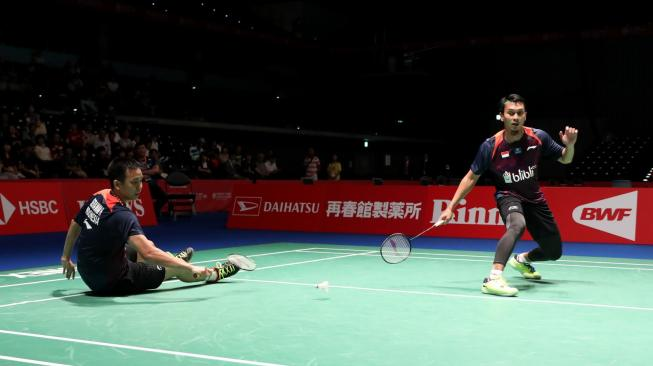 Fuzhou China Open: Hendra / Ahsan Keok, All Indonesia Final Gagal