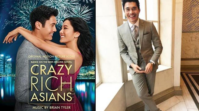 Henry Golding aktor  yang main film Crazy Rich Asians (instagram @crazyrichasians & @henrygolding)