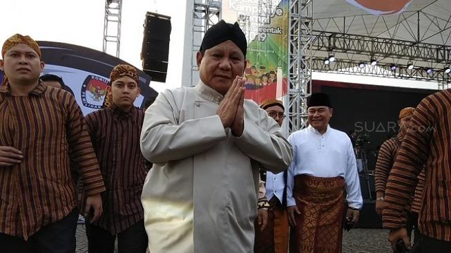 Tiru Donald Trump, Prabowo: Make Indonesia Great Again!