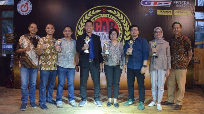 FORWOT anugerahkan Car of the Year 2018 [Suara.com/Manuel Jeghesta Nainggolan].