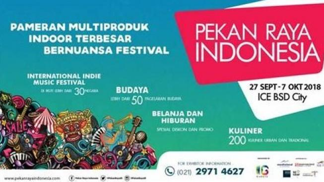 Pekan Raya Indonesia. (Dok: Indonesia International Expo)