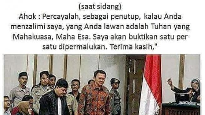 Ahok. (@ariwibowo_official/instagram)