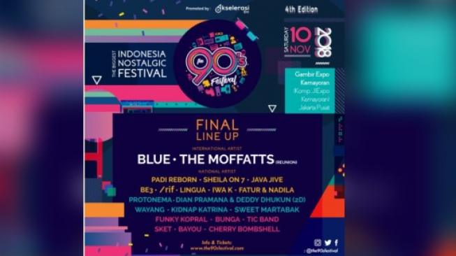 The Moffatts  Reunion  Hadir di The 90's Festival!