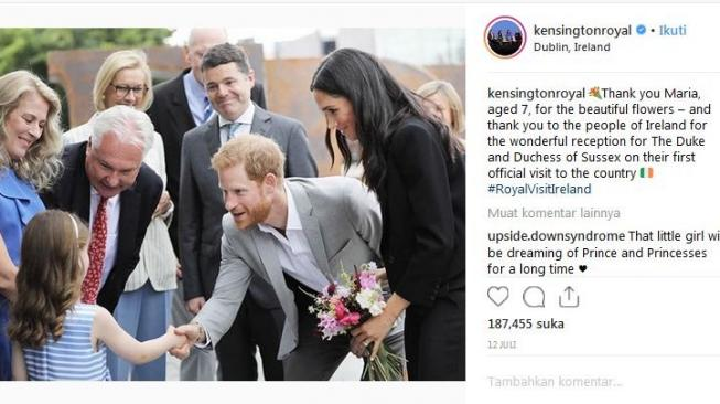 Pangeran Harry [Instagram @kensingtonroyal]