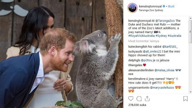 Pangeran Harry dan Meghan Markle [Instagram @kensingtonroyal]