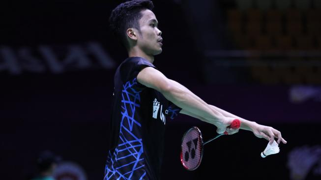 Jadwal Fuzhou Cina Open 2018: Anthony Ditantang Juara All England