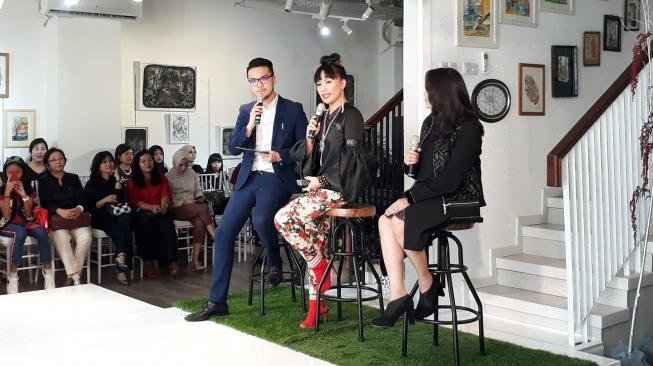 Label asal Indonesia 2Madison Avenue akan tampil di New York Fashion Week 2019. (Suara.com/Firsta Nodia)